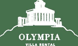 Olympia Villa Rental Logo White