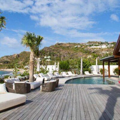 Olympia Villa LA PLAGE in Caribbean, Saint Barthélémy